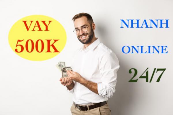 Vay nhanh 500K online siêu tốc qua thẻ ATM chỉ cần CMT