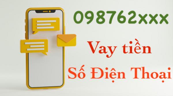 Vay tiền bằng số điện thoại Viettel Vina Mobi